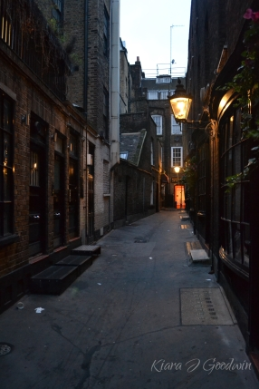 Fun fact from the tour: this alley is called Goodwin's Court and was the inspiration for Diagon Alley in HP books. So what you're saying is that I'm basically famous.