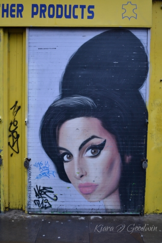 Brick Lane is crawling with talented artists...