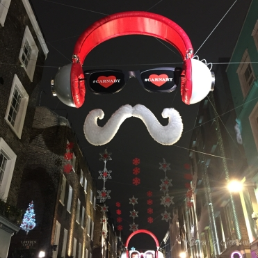 ...and on Carnaby Street.