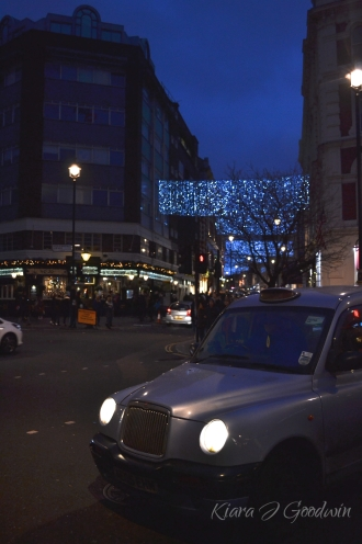 Twinkling lights everywhere we went. I love the city this time of year.