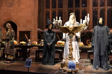 """The professors were """"standing"""" at the front of the hall, allowing us an up close and personal view of the costumes."""