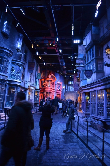 But the best part was definitely strolling down Diagon Alley.