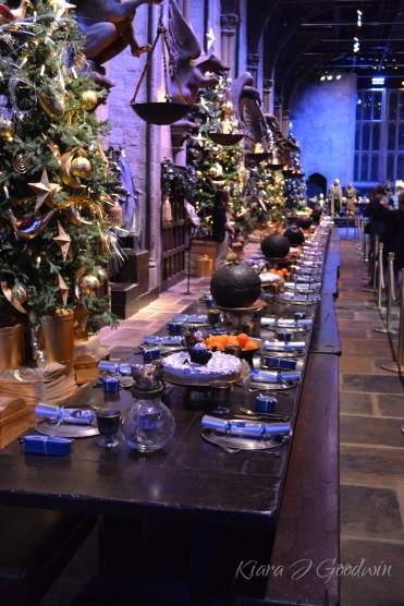 The table was still set for the Christmas feast...