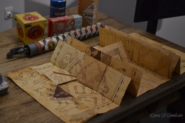 The Marauders Map unfolding right before our very eyes.