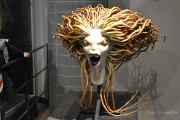 One of the favorite parts of the tour were the creature masks. Terrifyingly realistic.