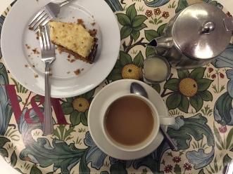 A proper English tea? Check that off the wishlist.