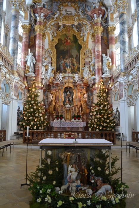 Inside The Wieskirche.
