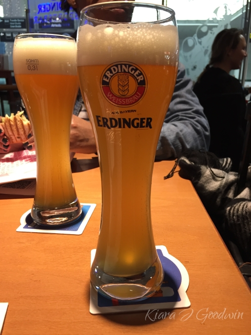 Cheers to our first German beers.
